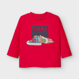 Mayoral Long sleeved start t-shirt for baby boy_